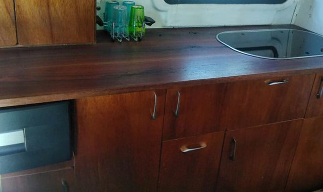 Marine cabinetry for yacht